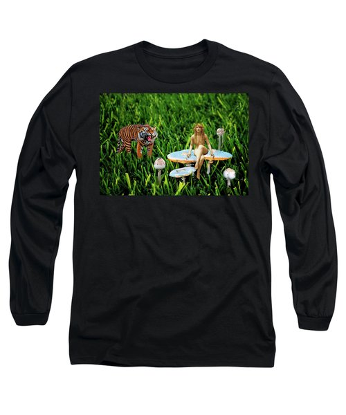 Angoisse Feminine#3 Long Sleeve T-Shirt