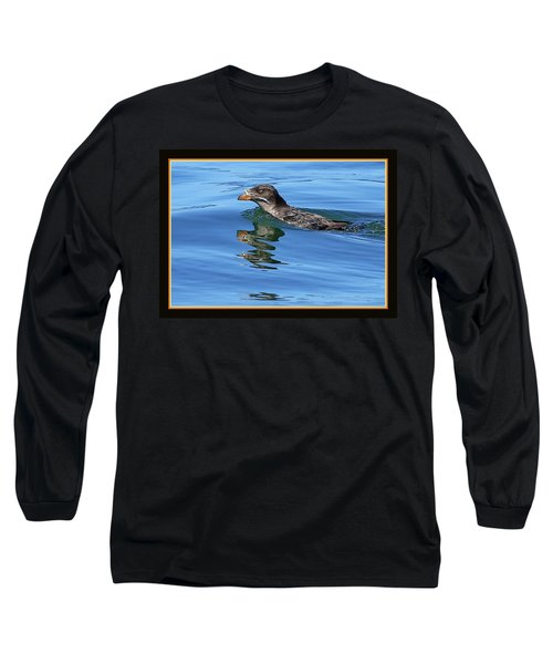 Angry Bird Long Sleeve T-Shirt by BYETPhotography
