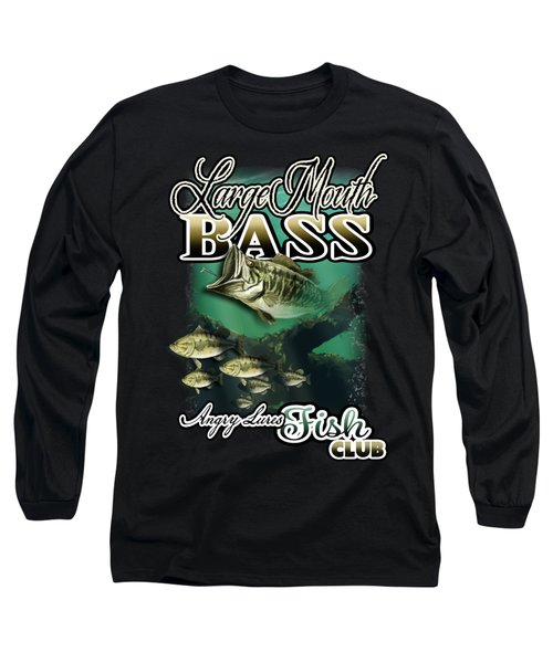 Angry Lures Fish Club Long Sleeve T-Shirt