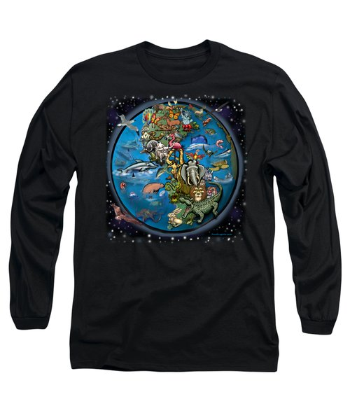 Animal Planet Long Sleeve T-Shirt by Kevin Middleton