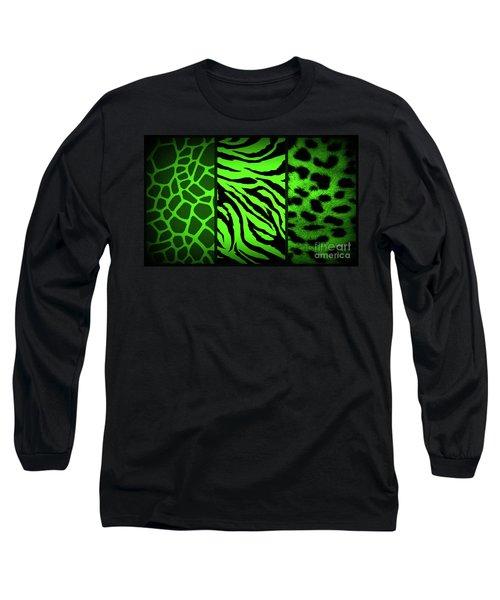 Animal Prints Long Sleeve T-Shirt