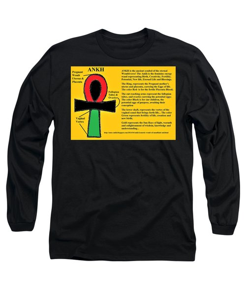 Ankh Meaning Long Sleeve T-Shirt
