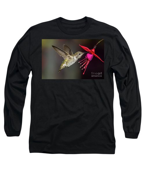 Anna Immature Hummingbird Long Sleeve T-Shirt
