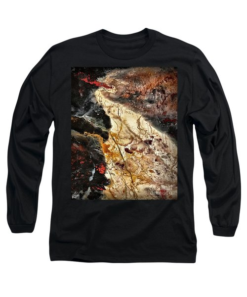 Long Sleeve T-Shirt featuring the photograph Anna River by Walt Foegelle