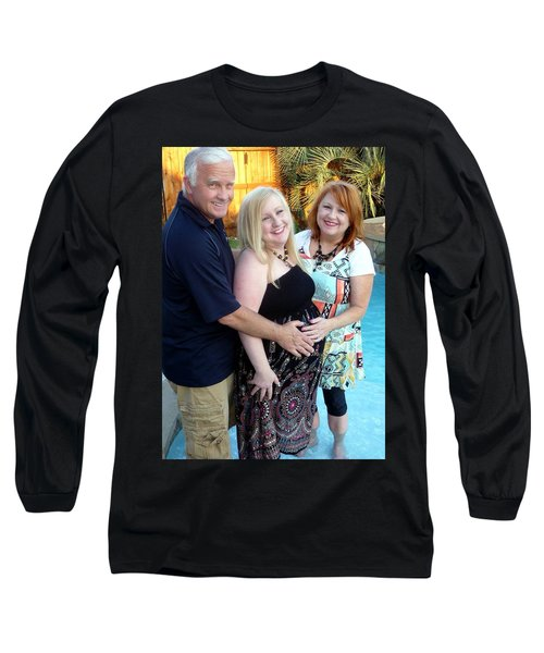 Annah With Parents Long Sleeve T-Shirt by Ellen O'Reilly