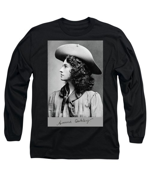 Annie Oakley Profile Long Sleeve T-Shirt