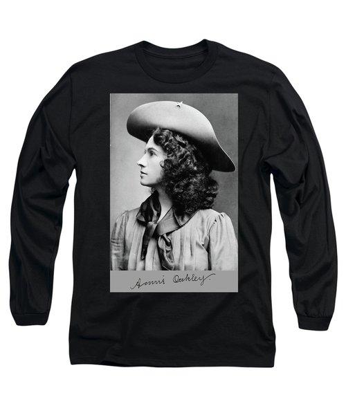 Annie Oakley Profile Long Sleeve T-Shirt