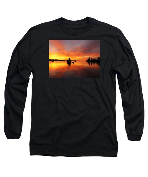 Long Sleeve T-Shirt featuring the photograph Another Morning by Mark Alan Perry