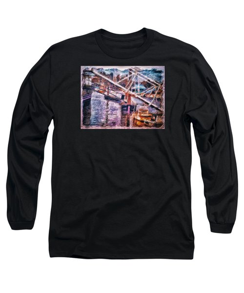 Long Sleeve T-Shirt featuring the digital art Another Picture For A Dentist Waiting Room by Leigh Kemp