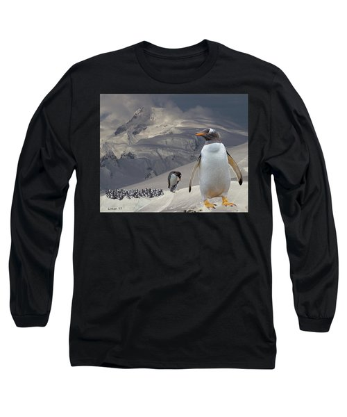Antarctic Magesty Long Sleeve T-Shirt