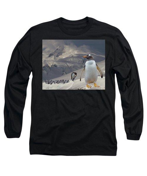 Antarctic Magesty Long Sleeve T-Shirt