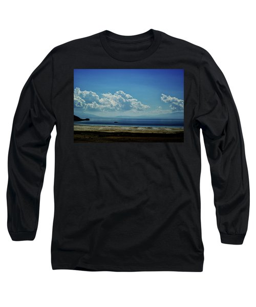 Antelope Island, Utah Long Sleeve T-Shirt by Cynthia Powell