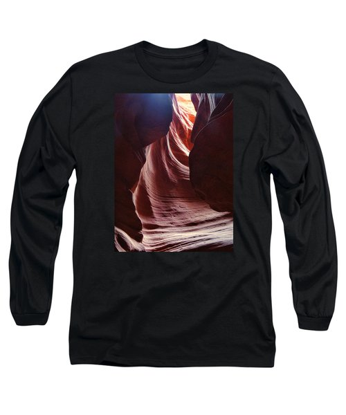 Antelope Valley Slot Canyon 3 Long Sleeve T-Shirt