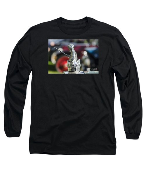 Long Sleeve T-Shirt featuring the photograph Antique Radiator Cap by JRP Photography