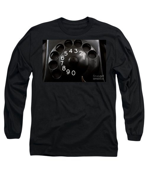 Antique Telephone Dial Long Sleeve T-Shirt