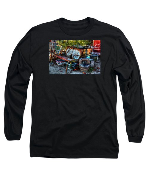 Antiques Shop Long Sleeve T-Shirt by Ester Rogers