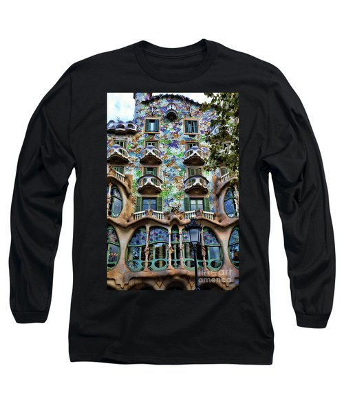 Antoni Gaudi's Casa Batllo Barcelona Spain  Long Sleeve T-Shirt