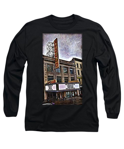 Apollo Theatre, Harlem Long Sleeve T-Shirt