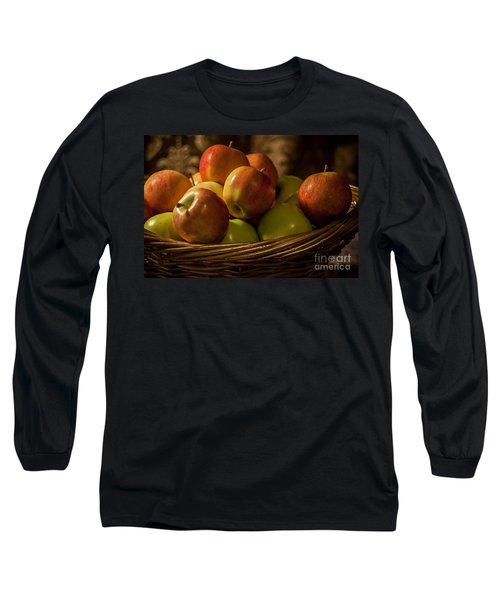 Apple Basket Long Sleeve T-Shirt