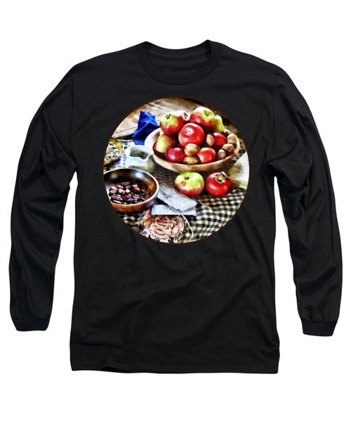 Apples And Nuts Long Sleeve T-Shirt