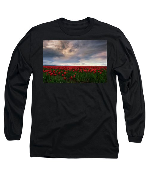 April Showers Long Sleeve T-Shirt by Ryan Manuel