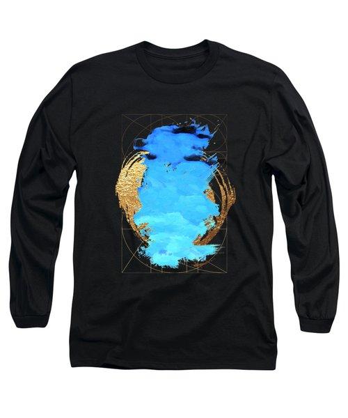 Aqua Gold No. 1 Long Sleeve T-Shirt