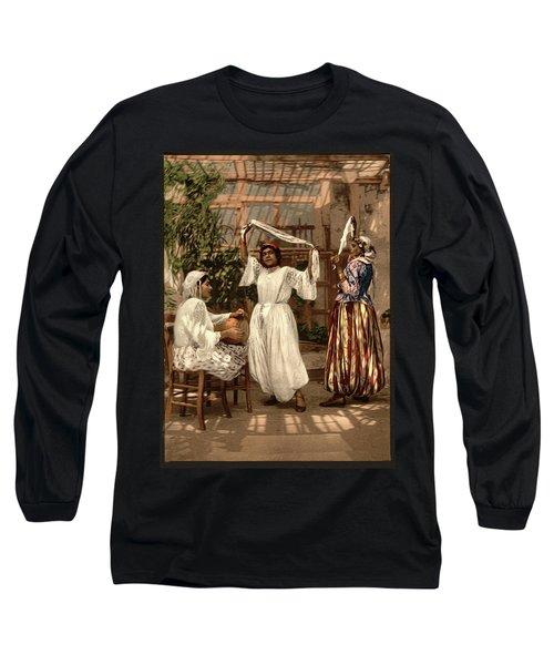 Arab Dancing Girls - Remastered Long Sleeve T-Shirt