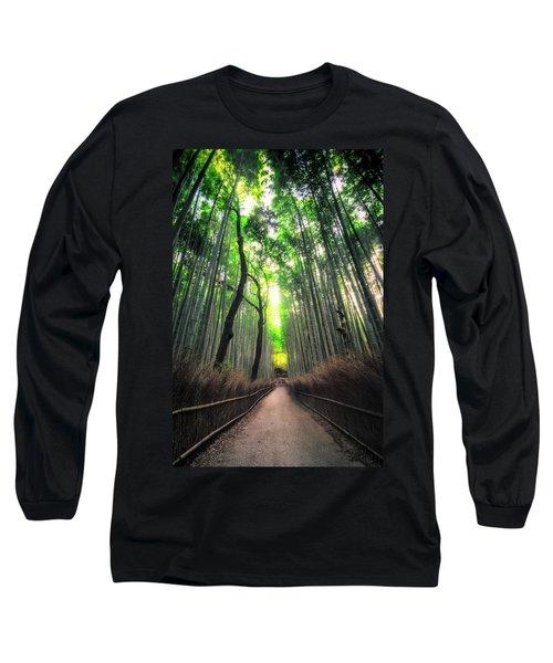 Arashiyama In Kyoto, Japan Long Sleeve T-Shirt