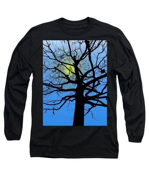 Arboreal Sun Long Sleeve T-Shirt by Tim Allen