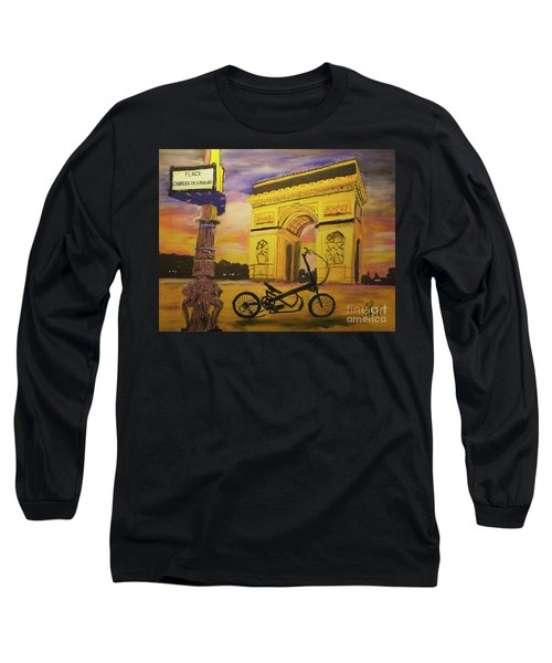 Arc De Triomphe Long Sleeve T-Shirt