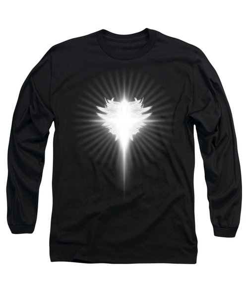 Archangel Cross Long Sleeve T-Shirt by James Larkin