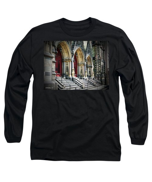 Arched Doorways Long Sleeve T-Shirt by Brian Wallace