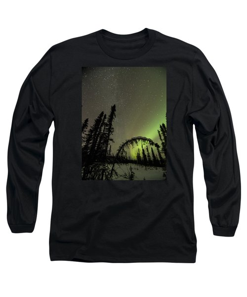 Arched Spruce Aurora Long Sleeve T-Shirt