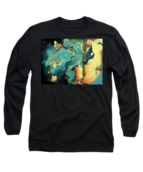 Archipelago Long Sleeve T-Shirt by Deborah Smith