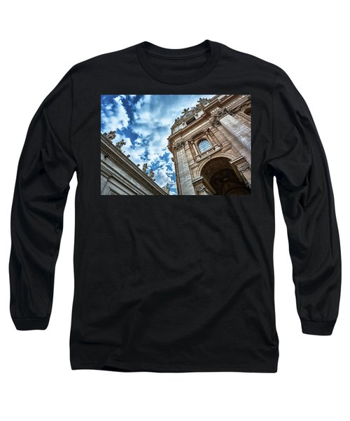 Architectural Majesty On Top Of The Sky Long Sleeve T-Shirt