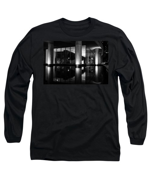 Architectural Reflecting Pool 2 Long Sleeve T-Shirt