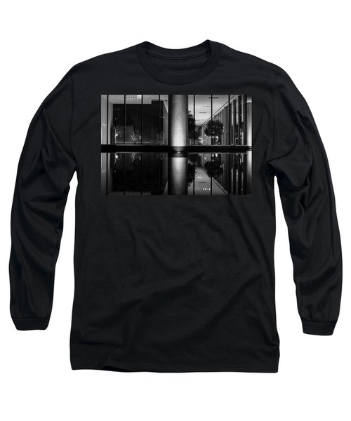 Architectural Reflecting Pool Long Sleeve T-Shirt