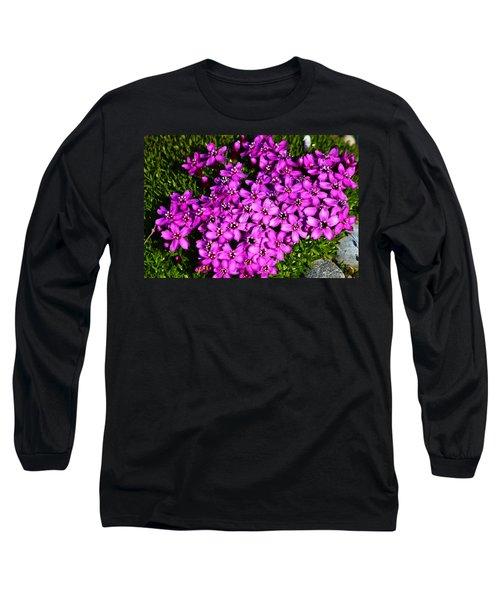 Arctic Wild Flowers Long Sleeve T-Shirt