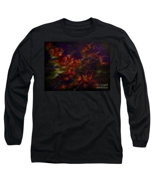 Long Sleeve T-Shirt featuring the digital art Ardor by Amyla Silverflame