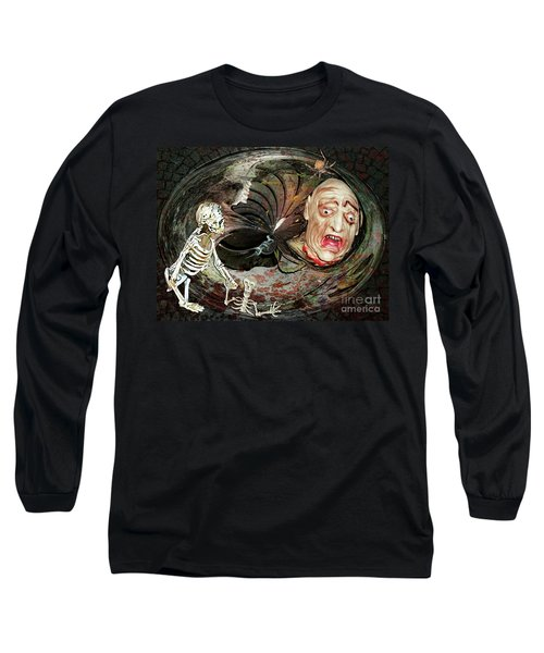 Are You Haunted Or Haunting Long Sleeve T-Shirt