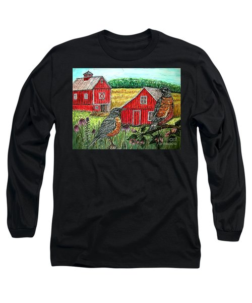 Are You Sure This Is The Way To St.paul? Long Sleeve T-Shirt by Kim Jones
