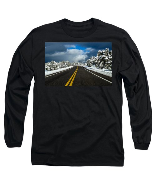 Arizona Snow Road Long Sleeve T-Shirt