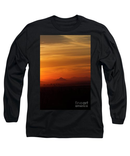 Arizona Sunrise Long Sleeve T-Shirt by Anne Rodkin