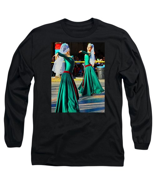 Armenian Dancers 9 Long Sleeve T-Shirt