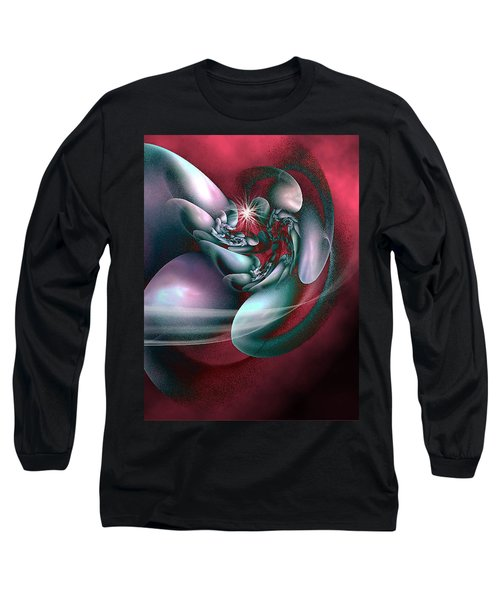 Long Sleeve T-Shirt featuring the digital art Arms Of Inspiration by Holly Ethan