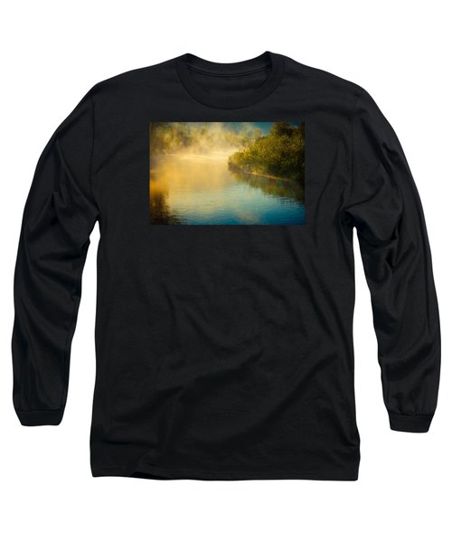 Long Sleeve T-Shirt featuring the photograph Around The Bend by Don Schwartz