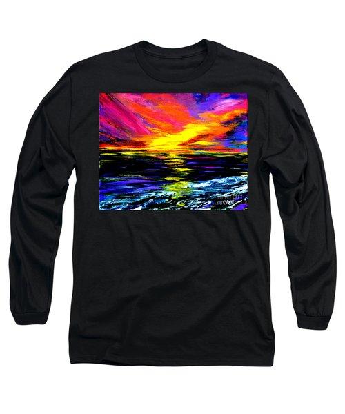 Art For Health And Life. Painting 8. Splendid Long Sleeve T-Shirt
