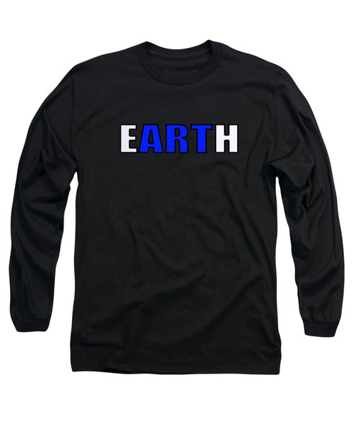 Art In Earth Long Sleeve T-Shirt