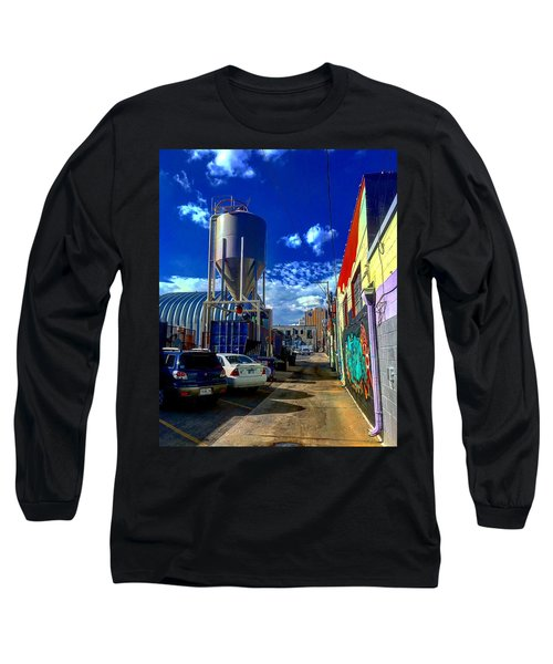 Art In The Alley Long Sleeve T-Shirt
