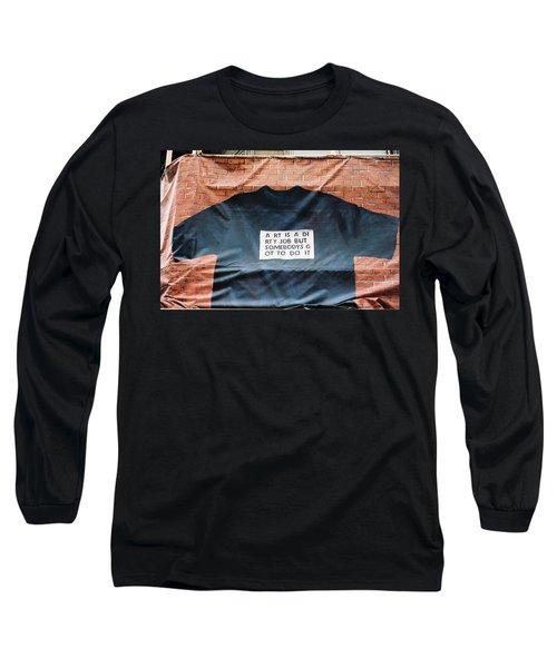 Art Shirt Long Sleeve T-Shirt